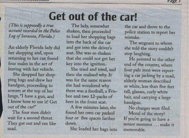 Mistaken Car